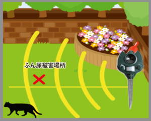 野良猫の簡単マーキング・トイレ防止対策!庭編
